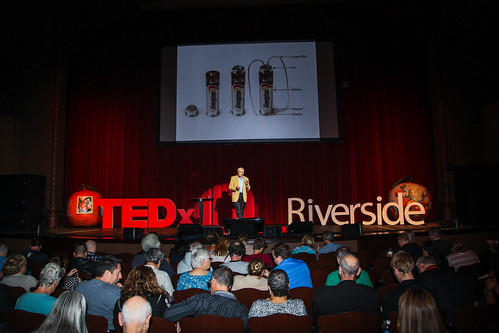 Gordon Bourns at TEDxRiverside | by Mike's Birds