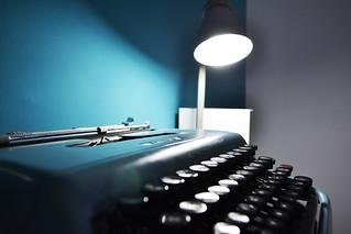 Typewriter | by Federica Agostini