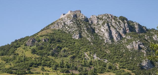 Montségur Citadelle du Vertige. Citadel of the Dizziness. [Explore 26-10-2014]