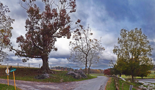 road park autumn fall clouds landscape virginia us rainyday unitedstates farm fallfoliage va autumncolor 2014 augustacounty visitorswelcome