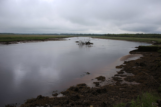 The River Findhorn near Forres