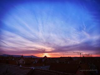 Himmel und Wolken Beitrag zum Fotoprojekt 17|01 #fb1701