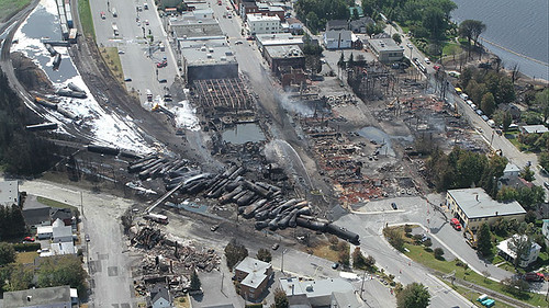 The Lac-Mégantic derailment | by NTSBgov