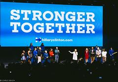 Hillary Clinton Rally @ The Mann Center Philadelphia 2016 I