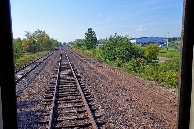 DM&IR (Duluth, Missabe & Iron Range) Tracks Approaching Two Harbors