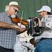 Jo-El Sonnier with Michael Doucet at the KBON Music Festival, Oct. 5, 2014