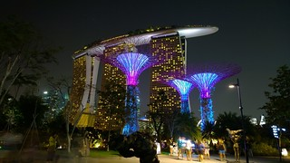 Singapore - Marina Bay Sands hotel from Gardens By the Bay | by mccrya