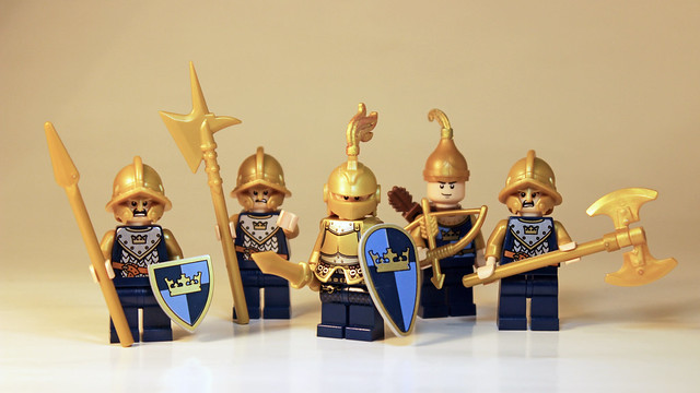 The Knights in Shiny Armour
