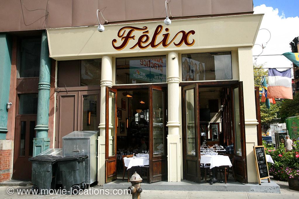 Big Daddy Film Location Felix Restaurant West Broadway