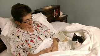 Momma & Normie in Bed 1