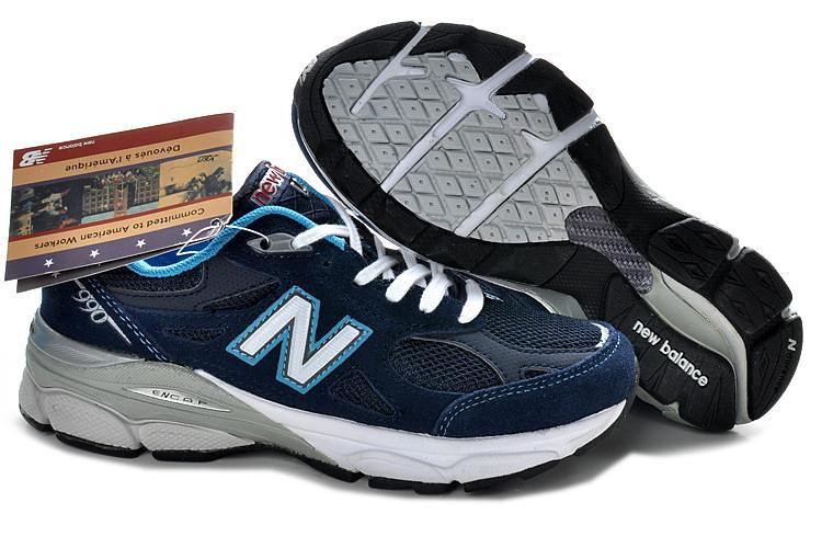 official photos eebd6 f20f7 New Balance W990NV Navy Blue Womens Sneakers | New Balance W ...