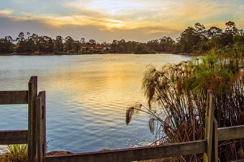 sunset sky lake water weather clouds lakes waterreflections forestlake sunsetsandsunrisesgold cloudsstormssunsetssunrises