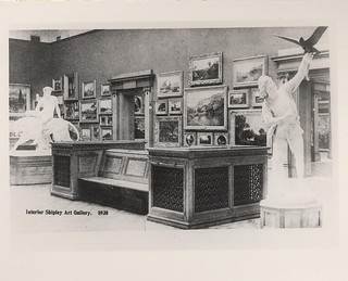 Interior of the Shipley Art Gallery