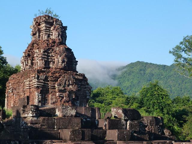 Santuario de My Son en Vietnam (Ruinas arqueológicas Patrimonio de la Humanidad en el Sudeste Asiático)