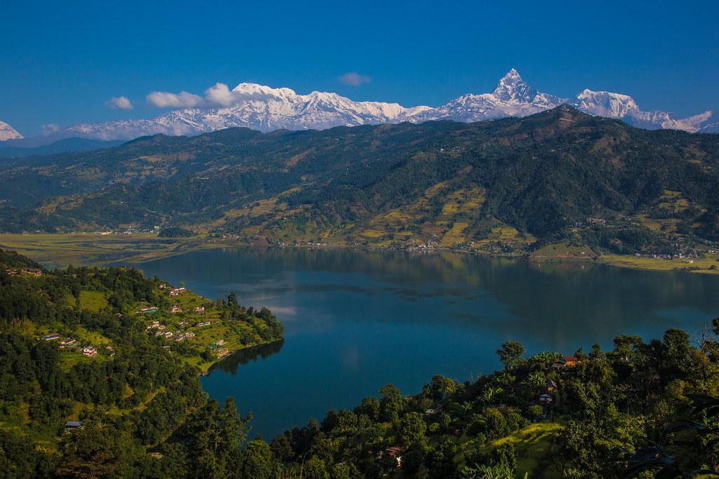 Phewa Lake in Pokhara