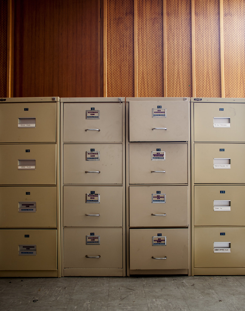 ABC SA, Archives Building, Filing Cabinets | Daniel Mee | Flickr