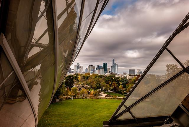 La Défense de la fondation Vuitton, Neuilly sur Seine