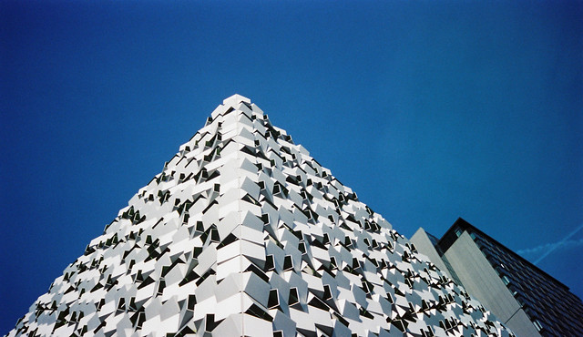 FILM - The Cheesegrater on expired Kodak Advantix