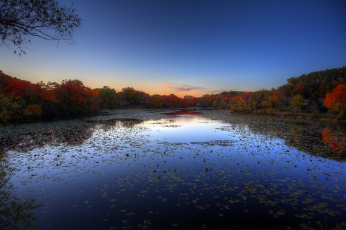 sunset lake 3 fall minnesota canon landscape eos mark iii wing 5d tamron mn hdr minnetonka 19mm photomatix