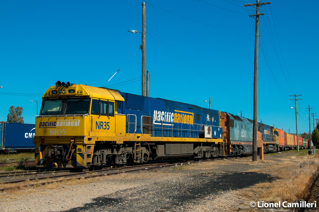 Stabled at Junee by LC501
