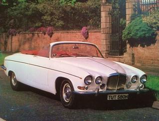 Jaguar 420G Convertible 1969 | old-days-better | Flickr