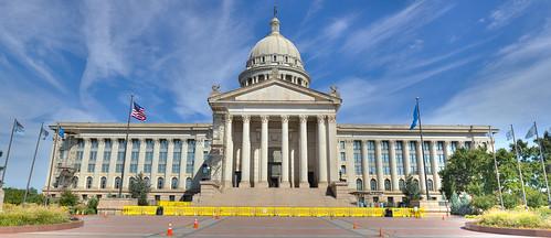 Oklahoma State Capitol (Panorama)