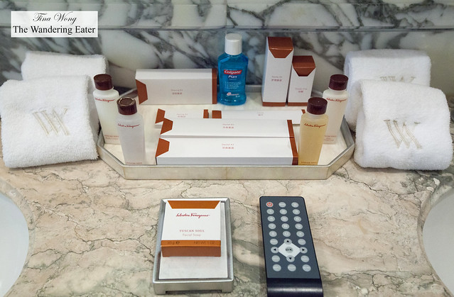 Salvatore Ferragamo bath products