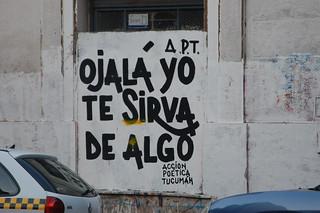 Hope I'm Useful to You for Something, Tucumán, Argentina   by blueskylimit