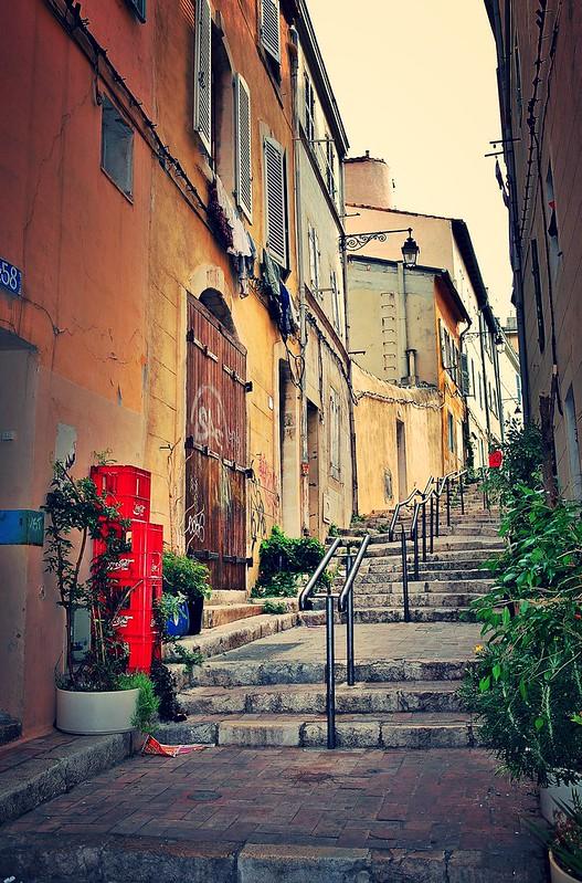 Rue - Quartier du Panier - Marseille