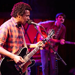 Wed, 05/11/2014 - 7:03pm - Benjamin Booker treats a room of WFUV Marquee Members to a show, 11/5/14. Hosted by Russ Borris. Photo by Gus Philippas