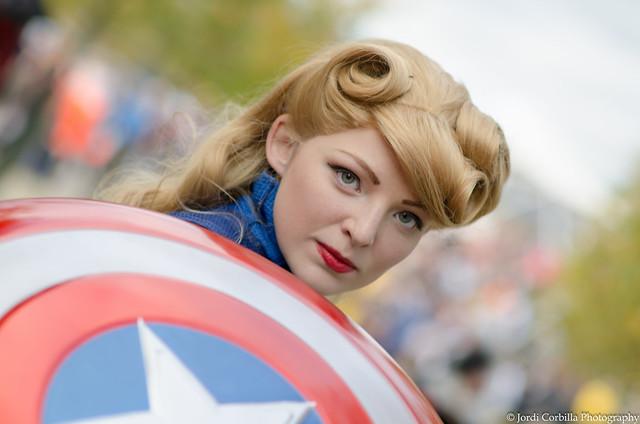 Female Captain America.