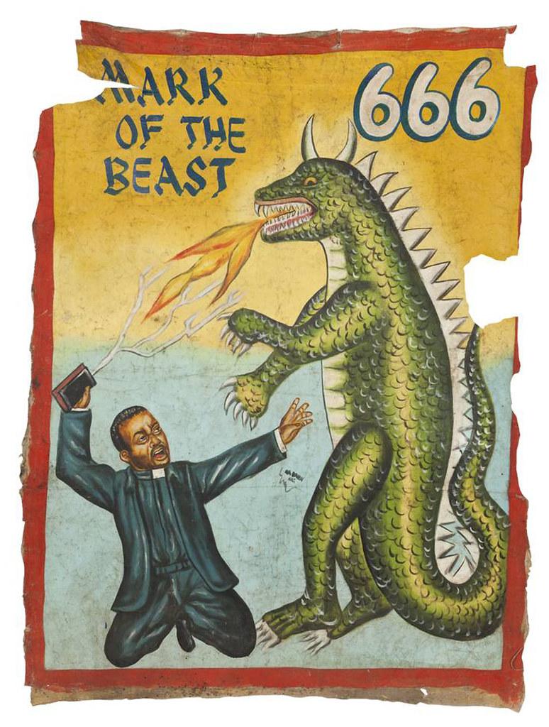 Ghana Film Poster - MARK OF THE BEAST 666 | monsterbrains bl… | Flickr