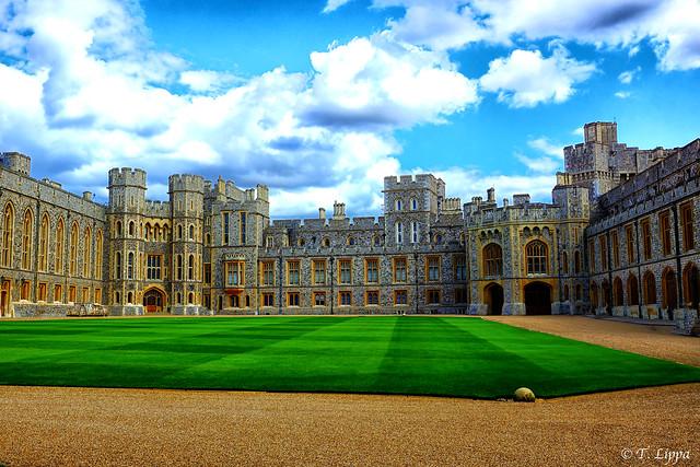 Court Yard Windsor Castle