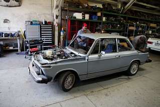 Clarion Builds BMW 2002 CoupeKing Teardown 13228 | by New Era Communications