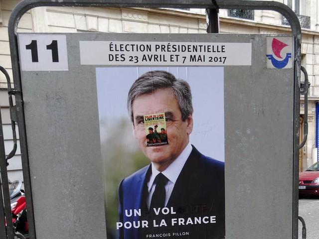 un candidat à l'élection présidentielle