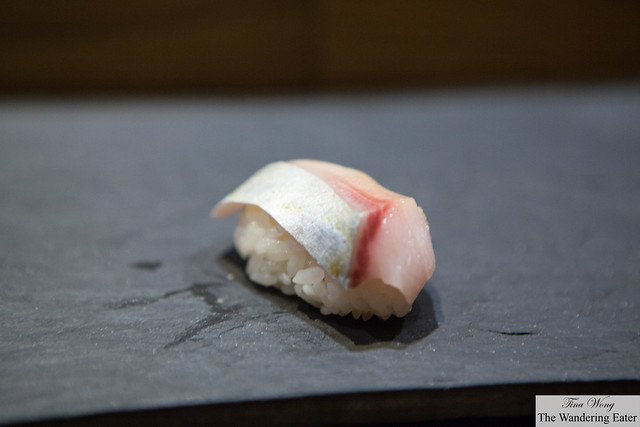 Seki saba (a type of mackerel) -  a fattier version of the sadman