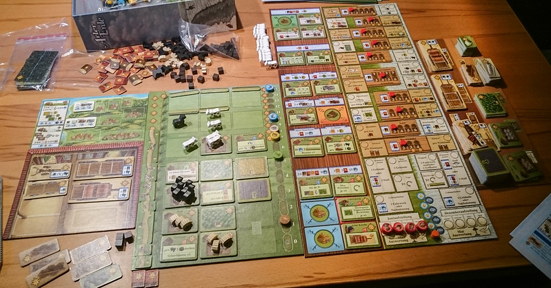 Fields of Arle board overview