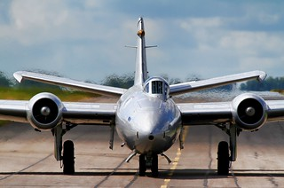 Canberra XH134 at Waddington | by Paul J Harvey