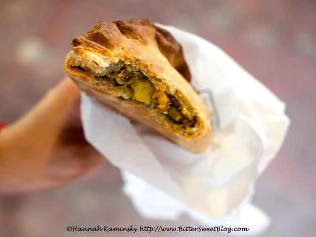 Curried Veg Pasty