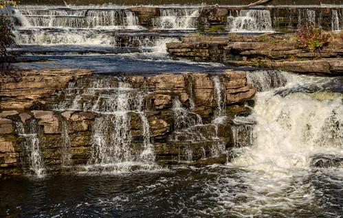 waterfalls mississippiriver almonte lanarkcounty almontefalls