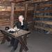 Velenje – hornické muzeum, Jaroslav Špička a jeho kancelář, foto: Petr Nejedlý