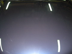 Pulido capot. Audi A6. Después