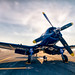 "Vought F4U Corsair by Scott Stringham ""Rustling Leaf Design"""