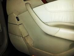 Mercedes Clase S. Puerta Copiloto. Antes