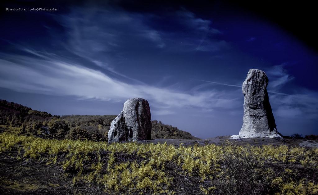 Argimusco megaliti IR