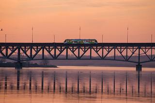 Bridge in Płock | by gpiaskowski