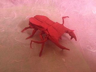 Stag Beetle 22.5   by Baltorigamist