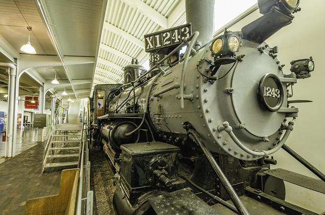 Durham Museum Engine