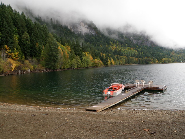 Horne Lake boat dock