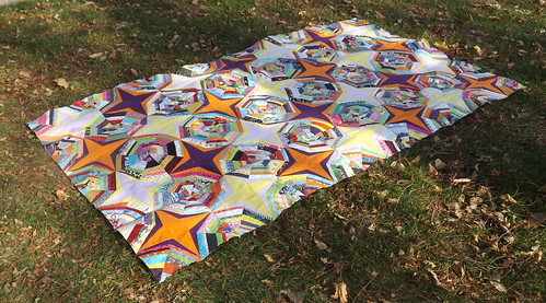 Swirling Sea of Stars Progress | by Grey Cat Quilts